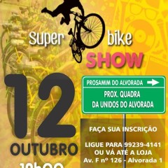Super Bike Show no Prosamim da Alvorada