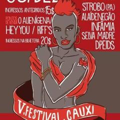 V Festival Cauxi lança line-up completo