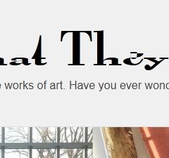 O que as obras de arte veem?