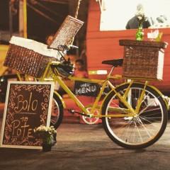 Sabores juninos do Meu Menu food bike