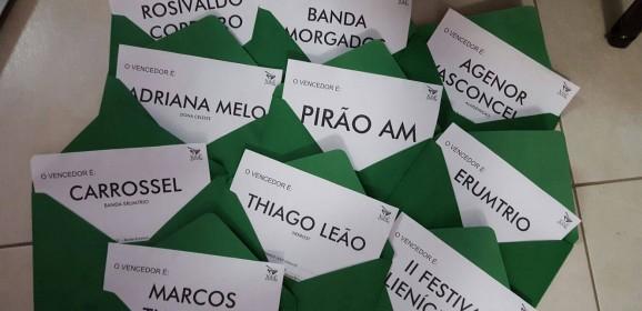 VENCEDORES 4° Prêmio Xibé da Música Amazonense