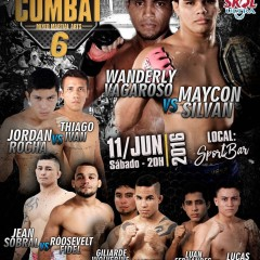 It's Time Combat 6 sábado no Sport Bar em Manaus