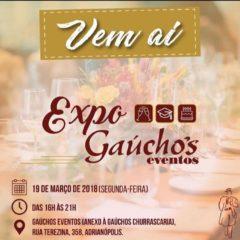 Expo Gaúcho's Eventos será no próximo dia 19