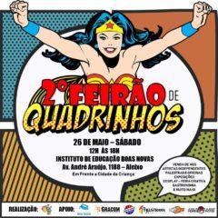 2° Feirão de Quadrinhos será neste sábado (26)
