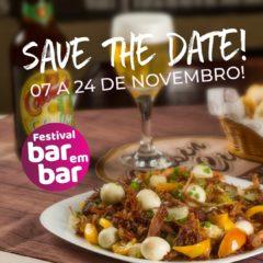 #Avante!! É até amanhã as inscrições pro Festival Bar em Bar 2019!!