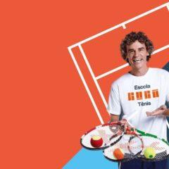 Manaus agora têm Escola Guga de Tênis