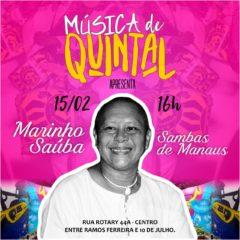 Música de Quintal edição de Carnaval com Marinho Saúba