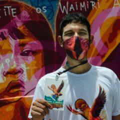 Raiz Campos reúne grafiteiros do AM e leva arte urbana para Presidente Figueiredo
