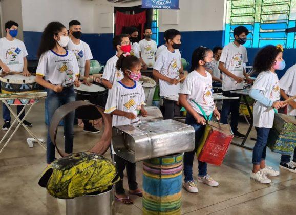 O Lixo Transformado Em Arte celebra 18 anos do grupo Curumim na Lata